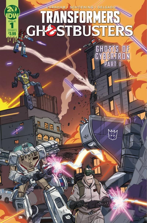 Transformers Ghostbusters #1 CVR A Schoening