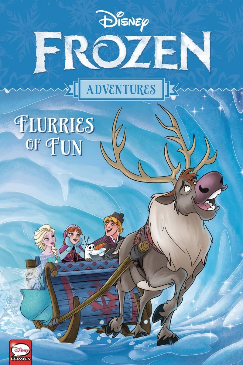 Disney Frozen Adventures TP Flurries of Fun