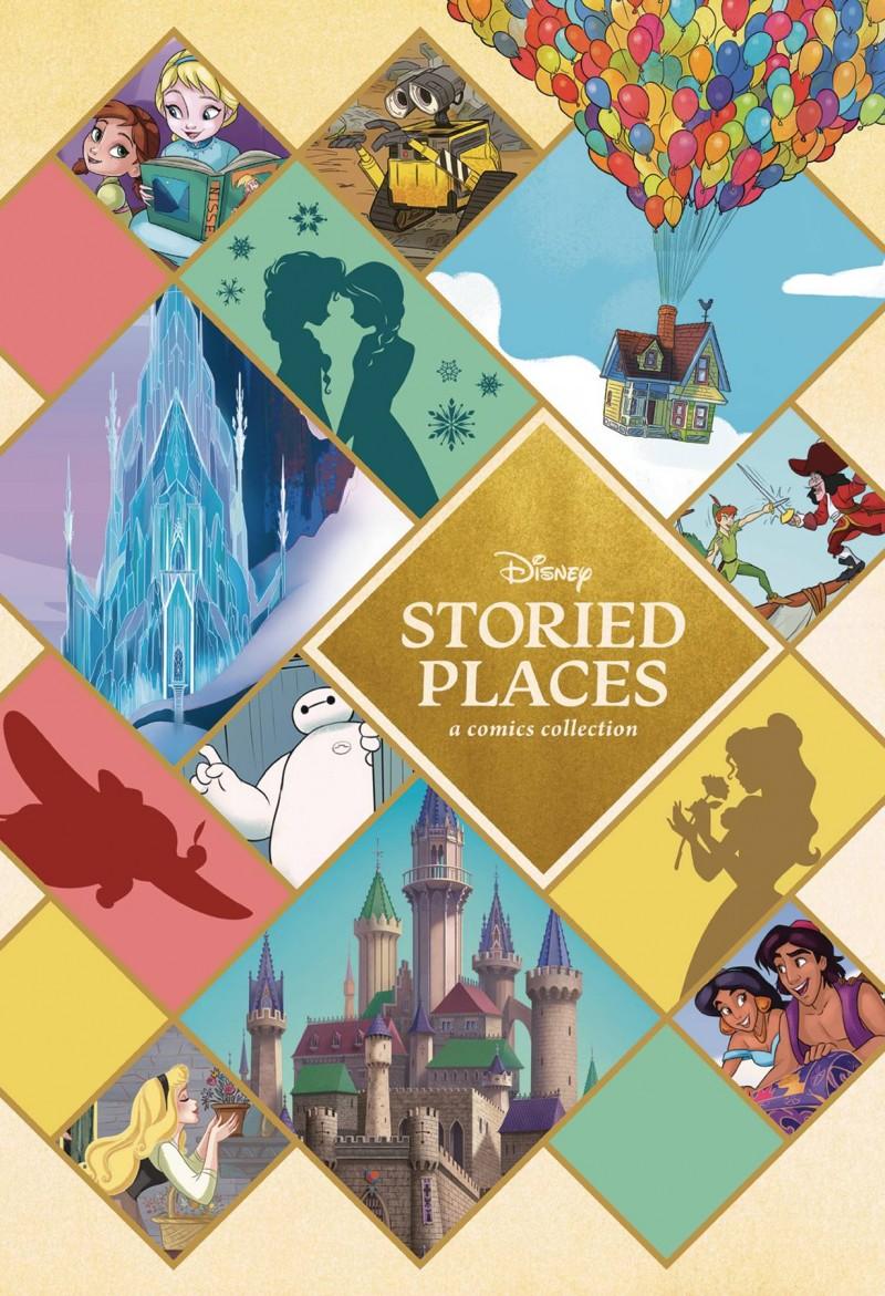 Disney Storied Places HC