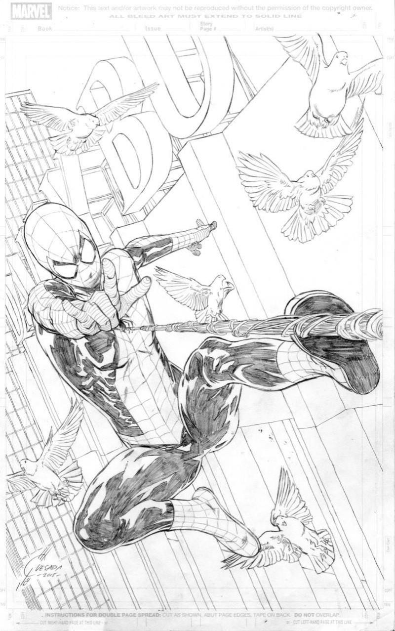 Amazing Spider-Man  #24 Variant Quesada