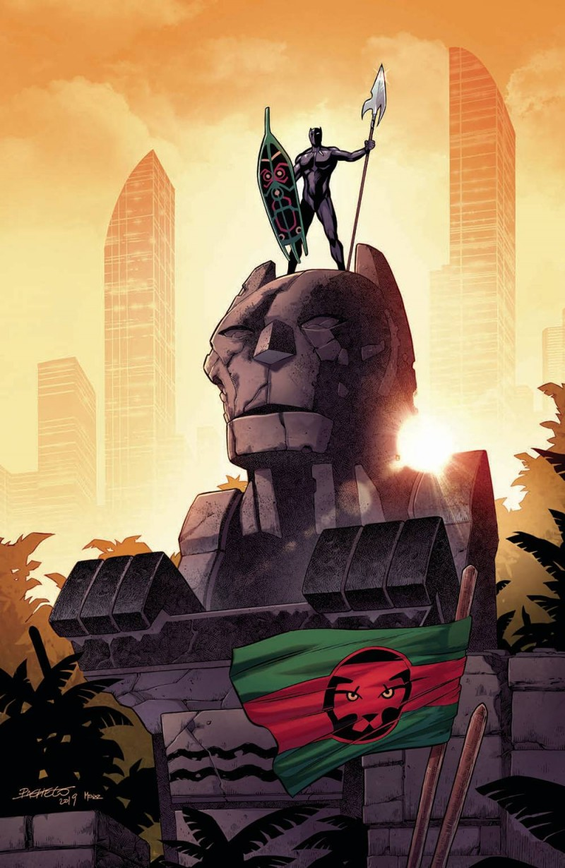 Black Panther  #13 Variant Pacheco Virgin