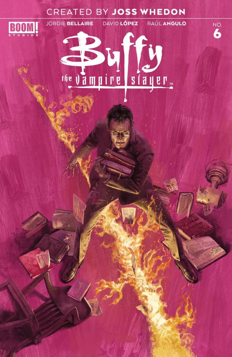 Buffy the Vampire Slayer  #6 CVR A Aspinall