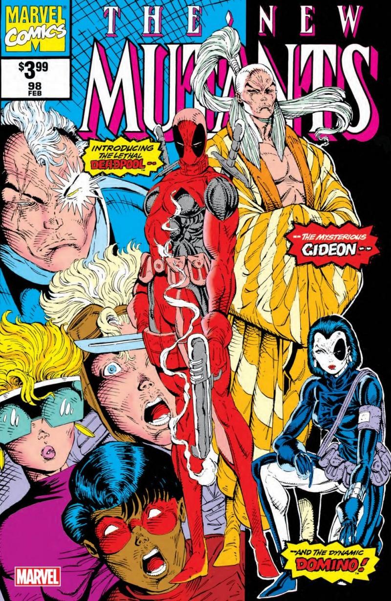 New Mutants #98 Facsimile Edition