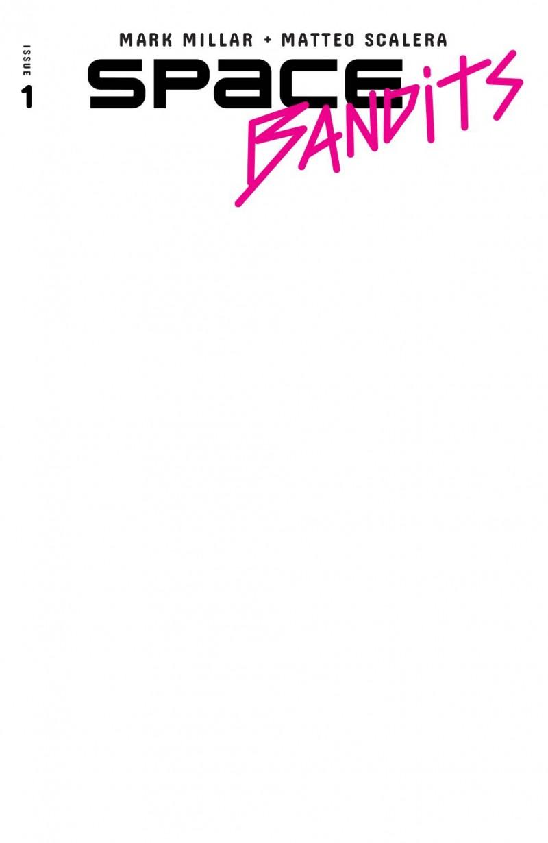 Space Bandits #1 CVR F Blank Sketch