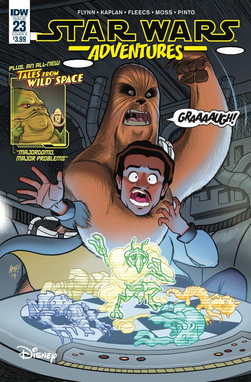Star Wars Adventures #23 CVR A Fleecs