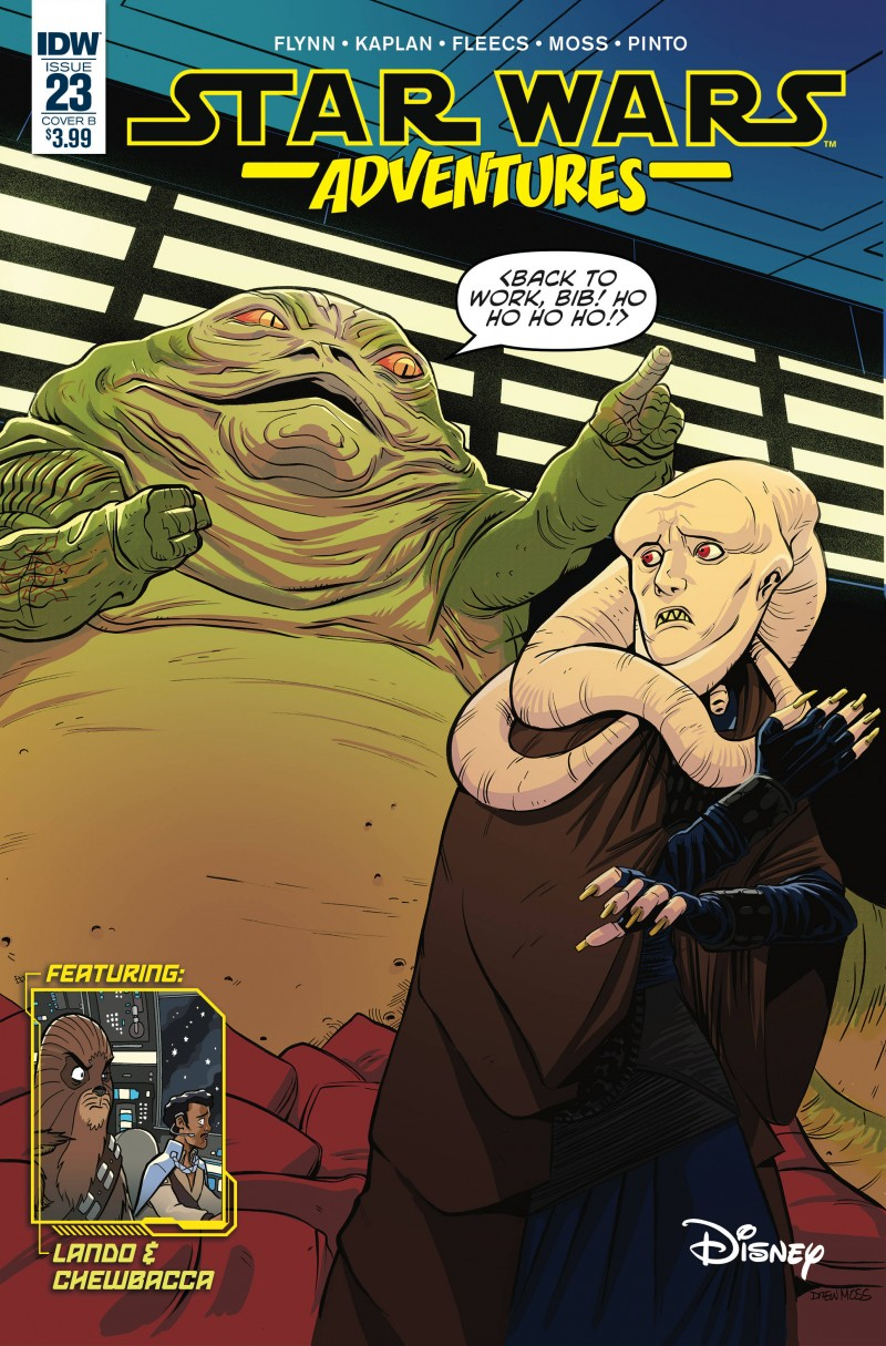 Star Wars Adventures #23 CVR B Moss