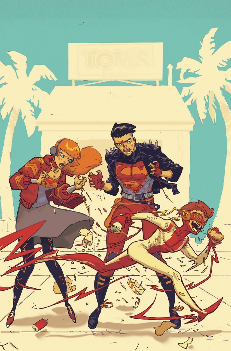 Young Justice  #7 CVR B