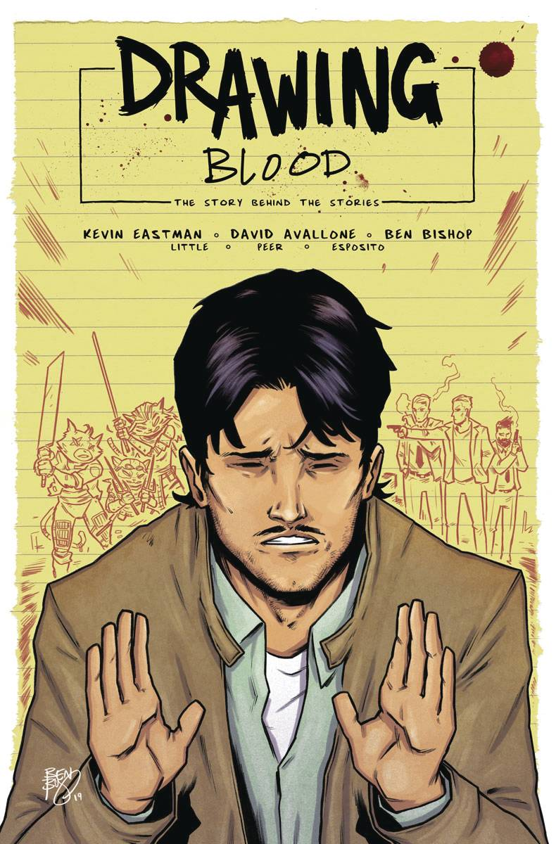 Drawing Blood Spilled Ink #2 CVR A Bishop