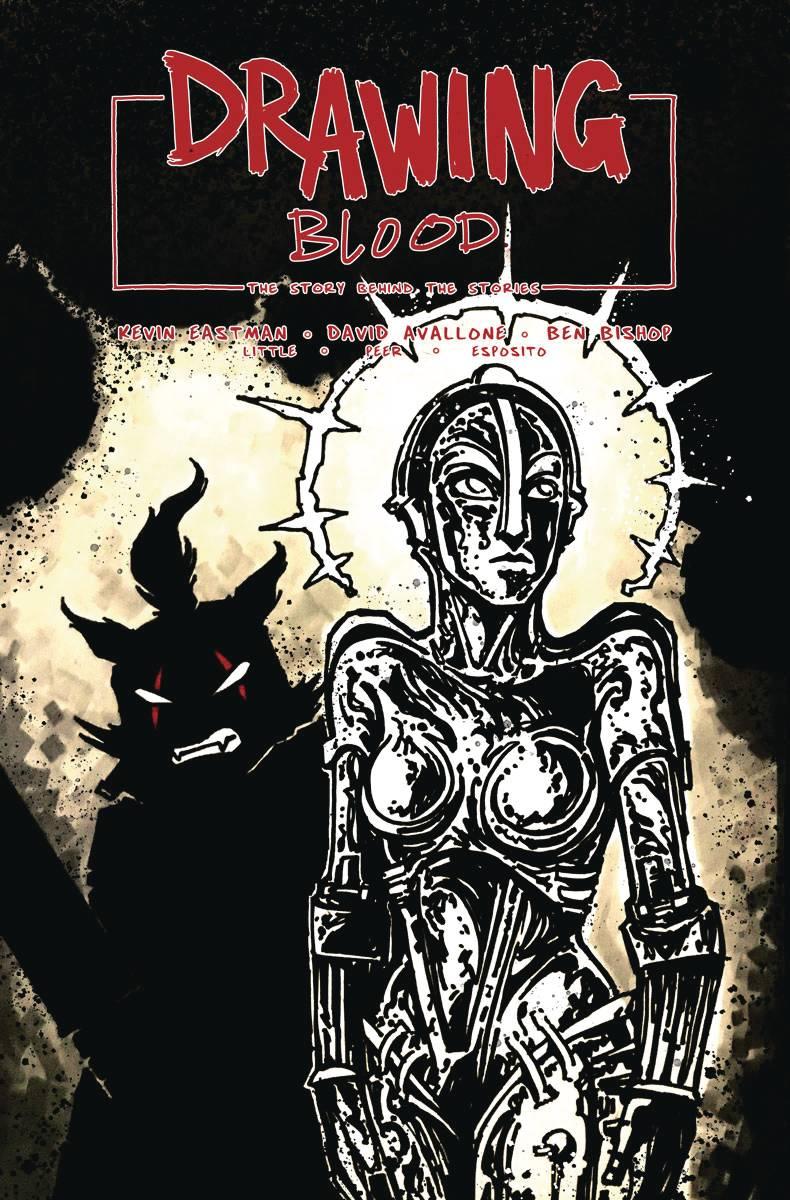 Drawing Blood Spilled Ink #2 CVR B Eastman