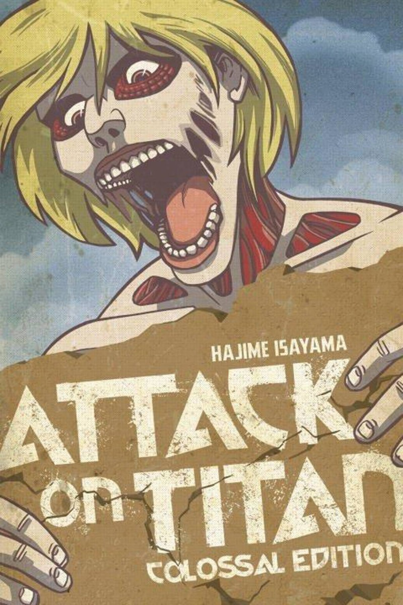 Attack On Titan GN Colossal Edition