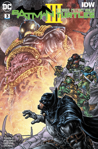 Batman Teenage Mutant Ninja Turtles III #3 CVR A