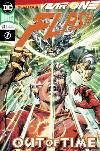 Flash  #74 CVR A