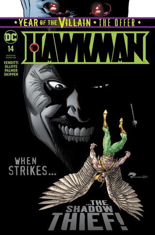 Hawkman  #14 CVR A