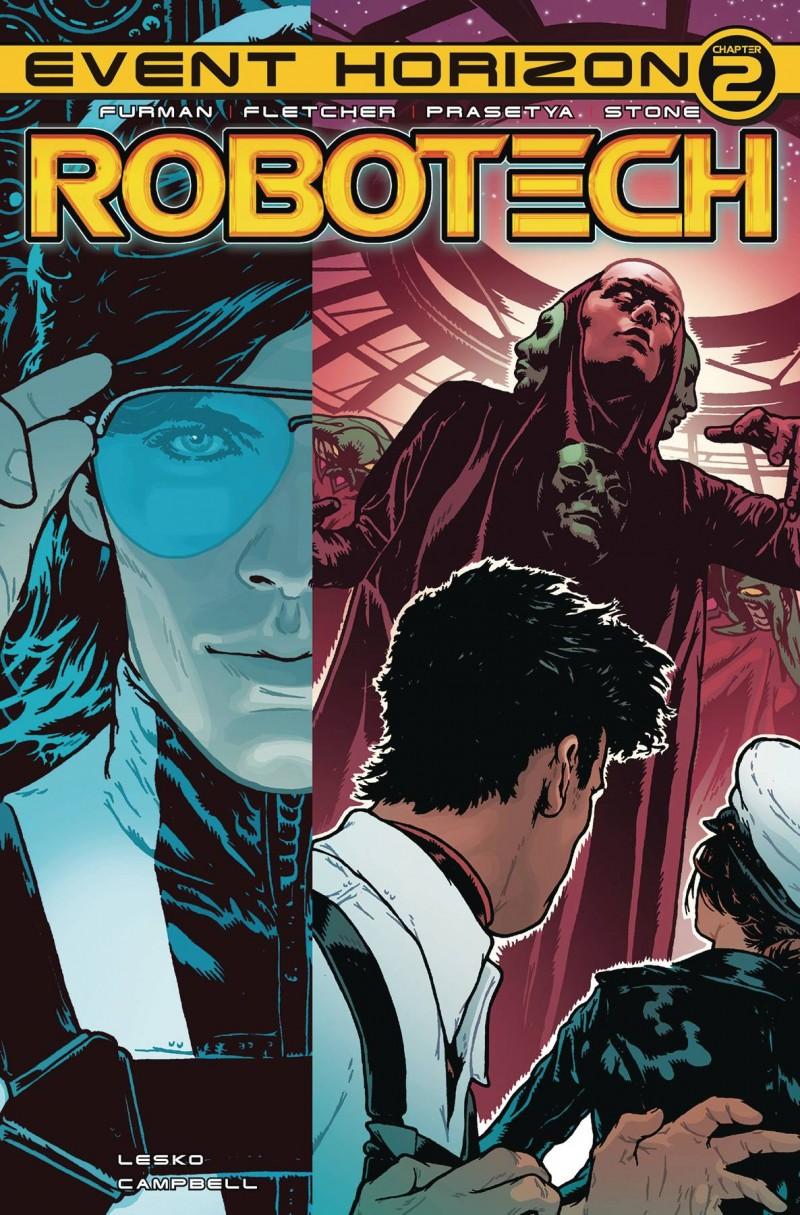 Robotech #22 CVR A Spokes