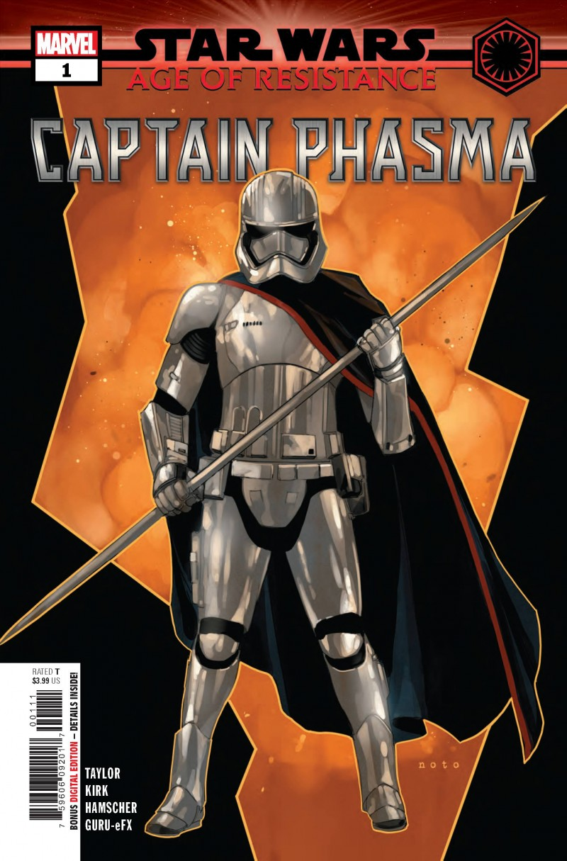 Star Wars One-Shot Age of Republic Captain Phasma