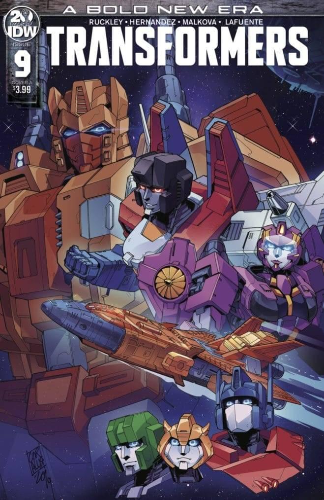 Transformers  #9 CVR A Miyao