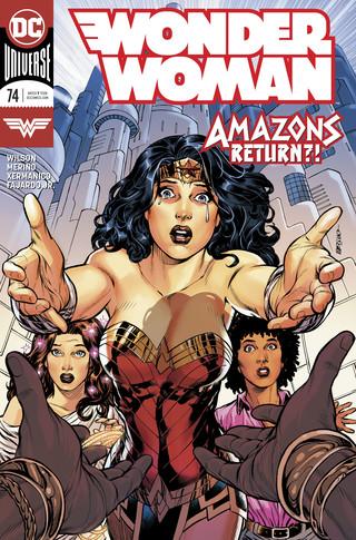 Wonder Woman  #74 CVR A