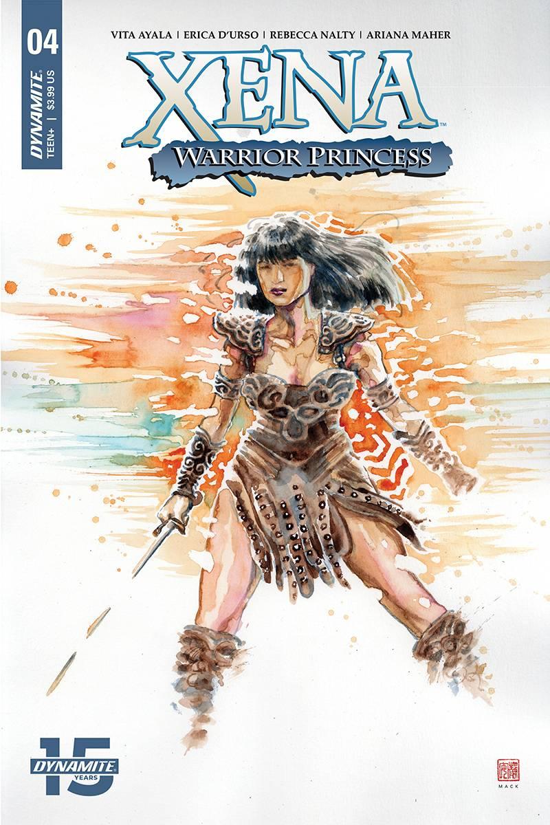 Xena Warrior Princess  #4 CVR A Mack
