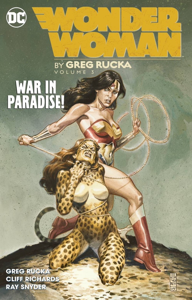 Wonder Woman TP Greg Rucka