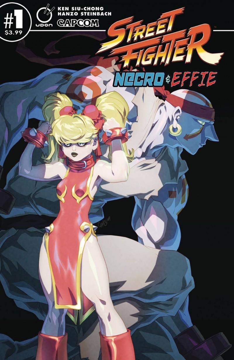 Street Fighter Necro and Effie #1 CVR B Cruz