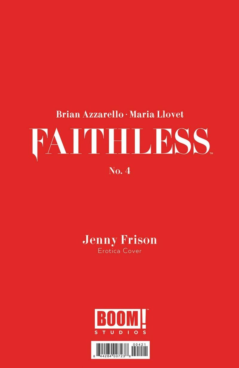 Faithless #4 CVR B Erotic Frison