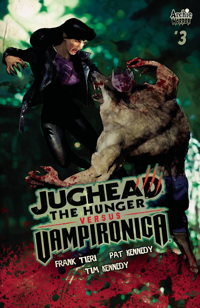 Jughead Hunger Vs Vampironica #3 CVR C Staggs