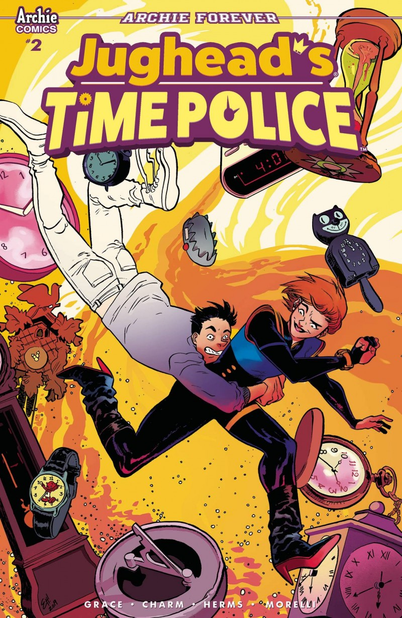 Jughead Time Police #2 CVR B Henderson