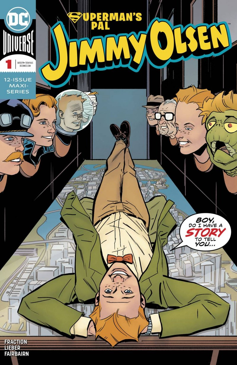 Supermans Pal Jimmy Olsen  #1 CVR A