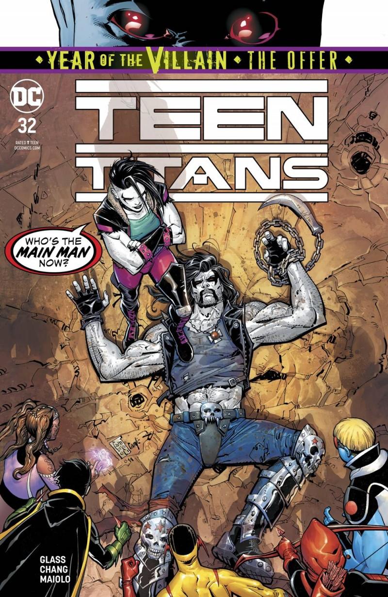 Teen Titans  #32 CVR A