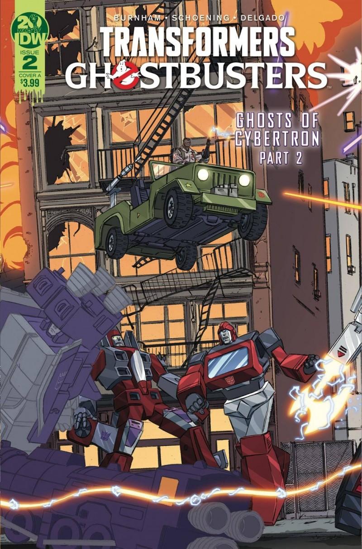Transformers Ghostbusters #2 CVR A Schoening