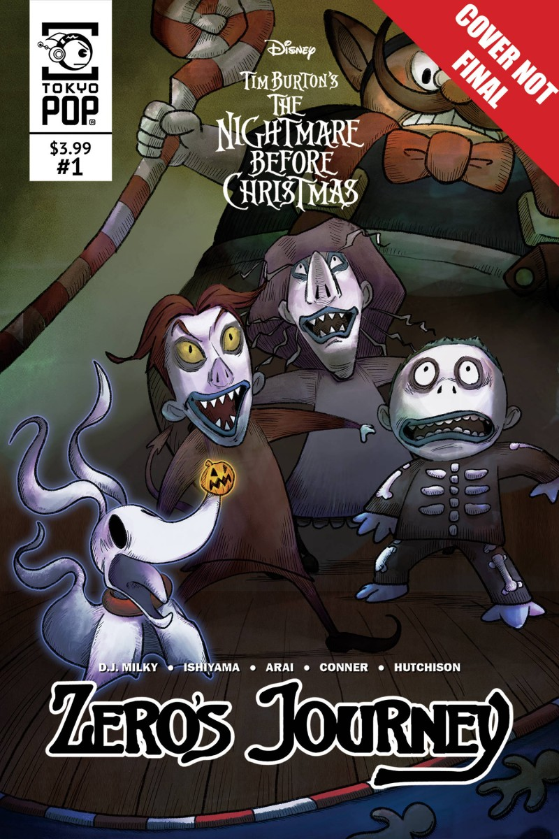 Nightmare Before Christmas Zeros Journey #11