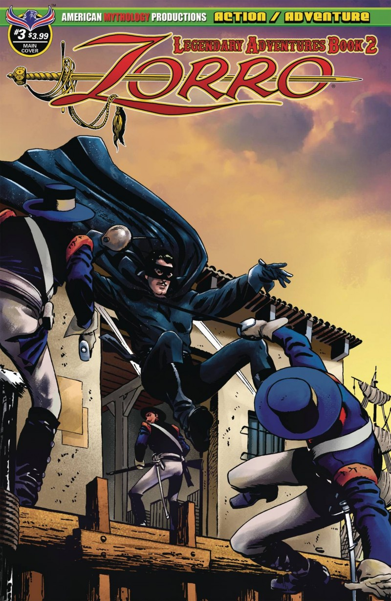 Zorro Legendary Adventures Book 2 #3
