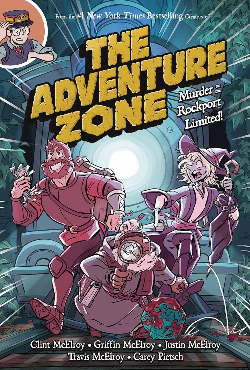 Adventure Zone GN  Murder on Rockport Limited