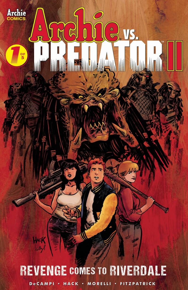 Archie Vs Predator 2 #1 CVR A Hack