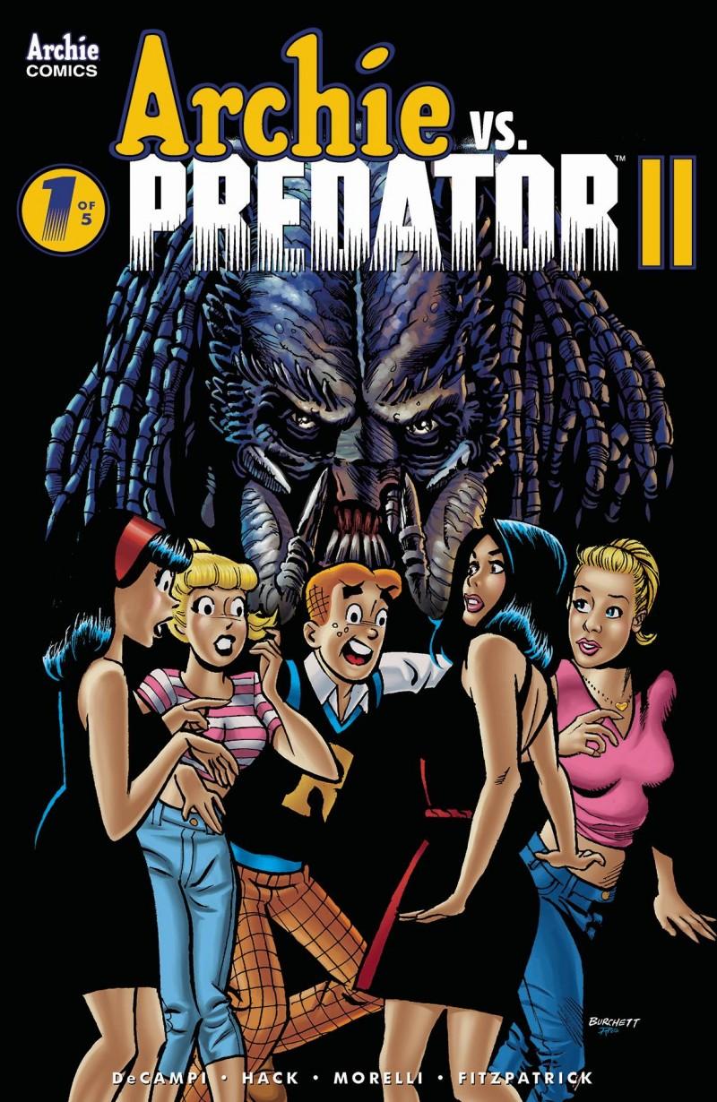 Archie Vs Predator 2 #1 CVR B Burchett