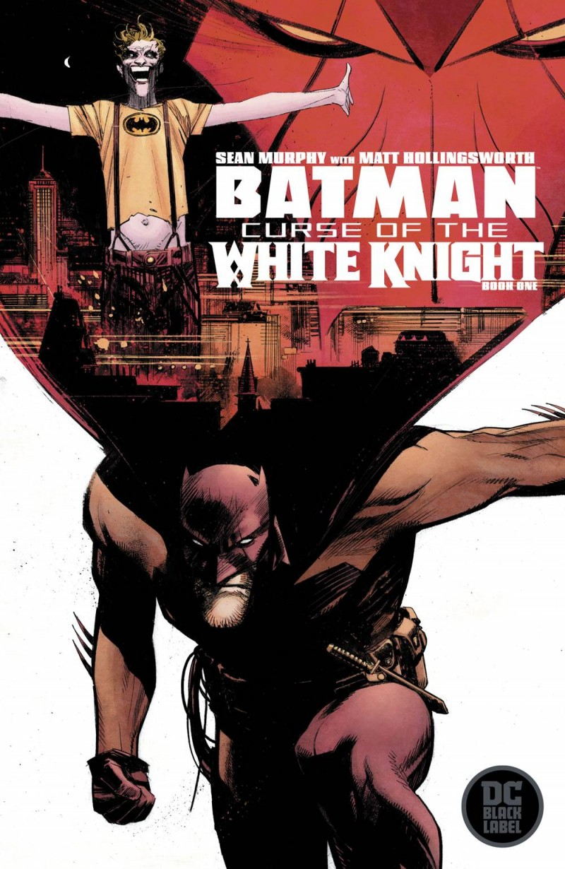 Batman Curse Of The White Knight #1 CVR A