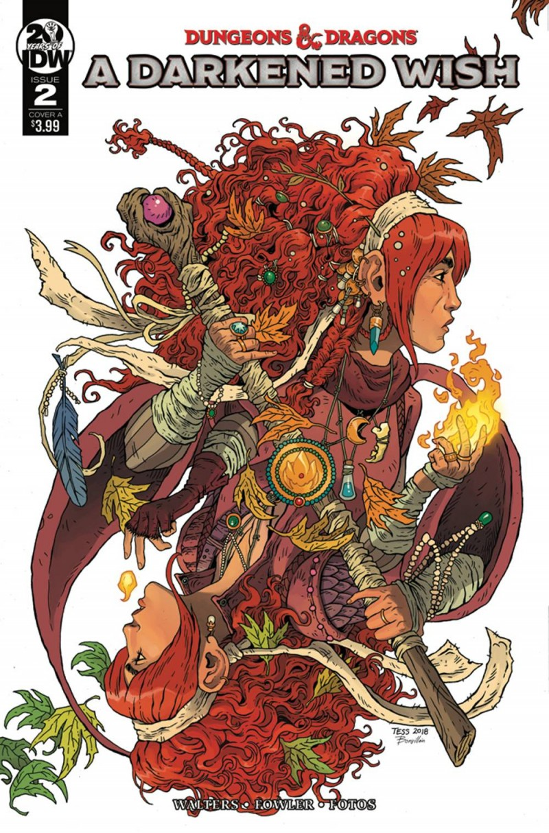 Dungeons and Dragons a Darkened Wish #2 CVR A Fowler