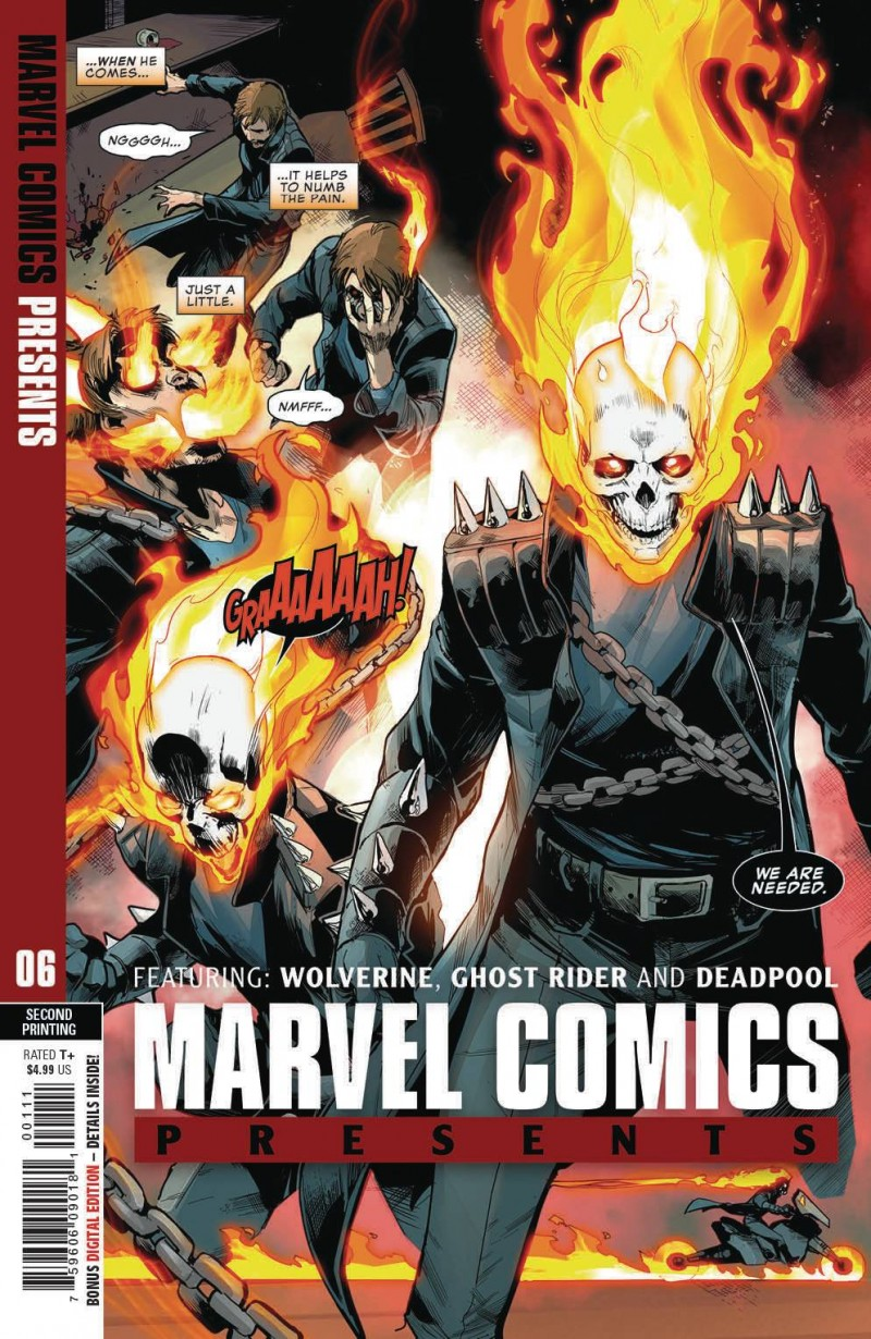 Marvel Comics Presents  #6 Second Printing Siqueira