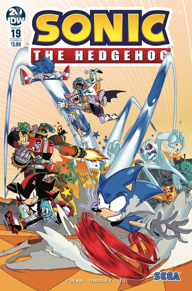 Sonic The Hedgehog  #19 CVR A Jampole