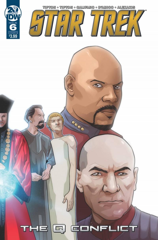 Star Trek Q Conflict #6 CVR B