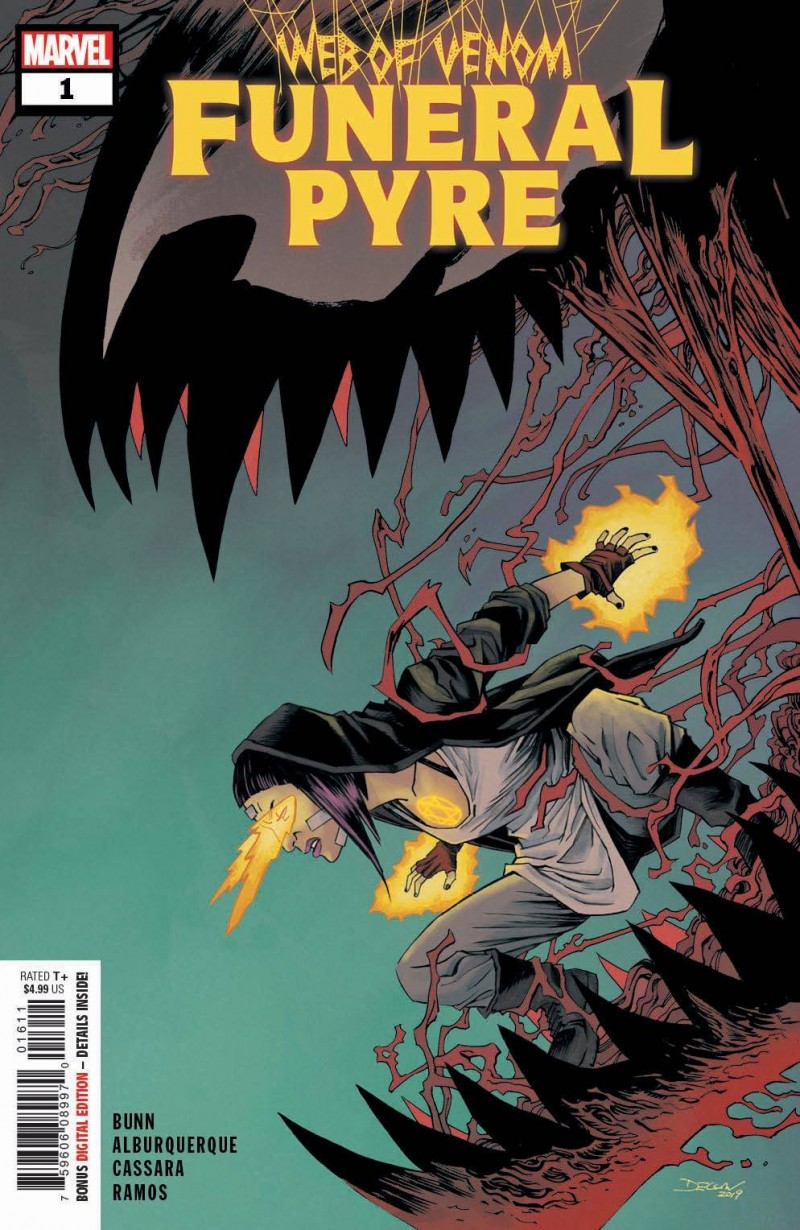 Web of Venom One-Shot Funeral Pyre