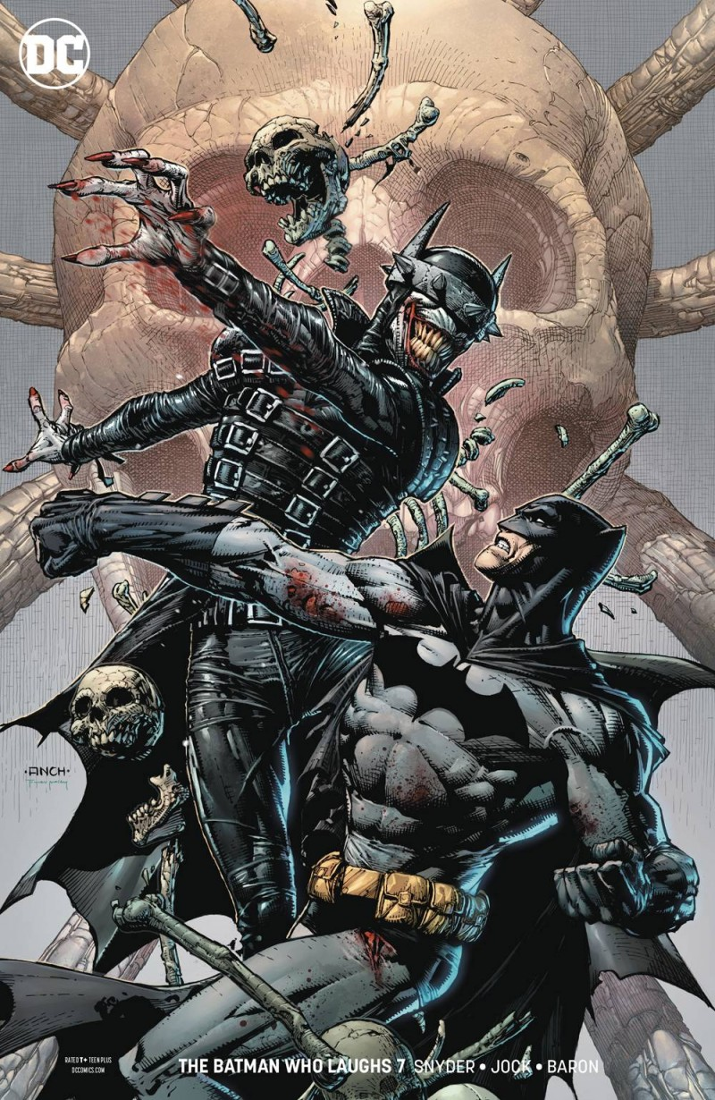 Batman Who Laughs #7 CVR B