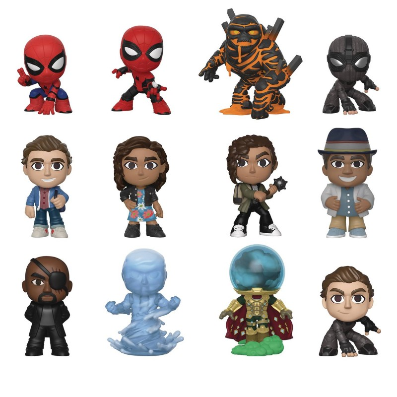Mystery Minis Spider-Man Far From Home Mystery Box