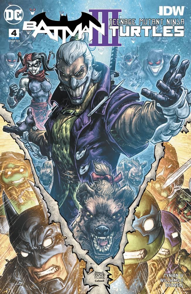 Batman Teenage Mutant Ninja Turtles III #4 CVR A