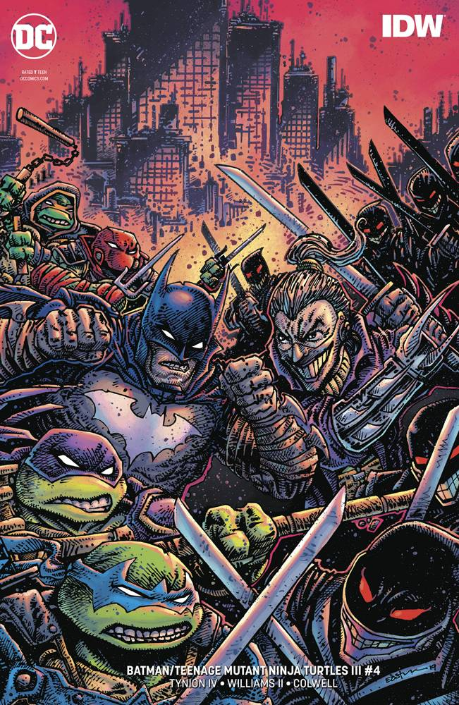 Batman Teenage Mutant Ninja Turtles III #4 CVR B