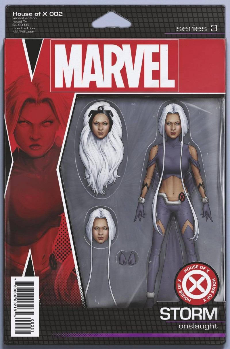 House of X #2 Variant Christopher Action Figure