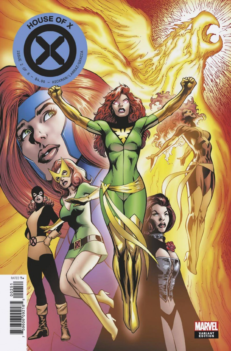 House of X #2 Variant Davis Character Decades