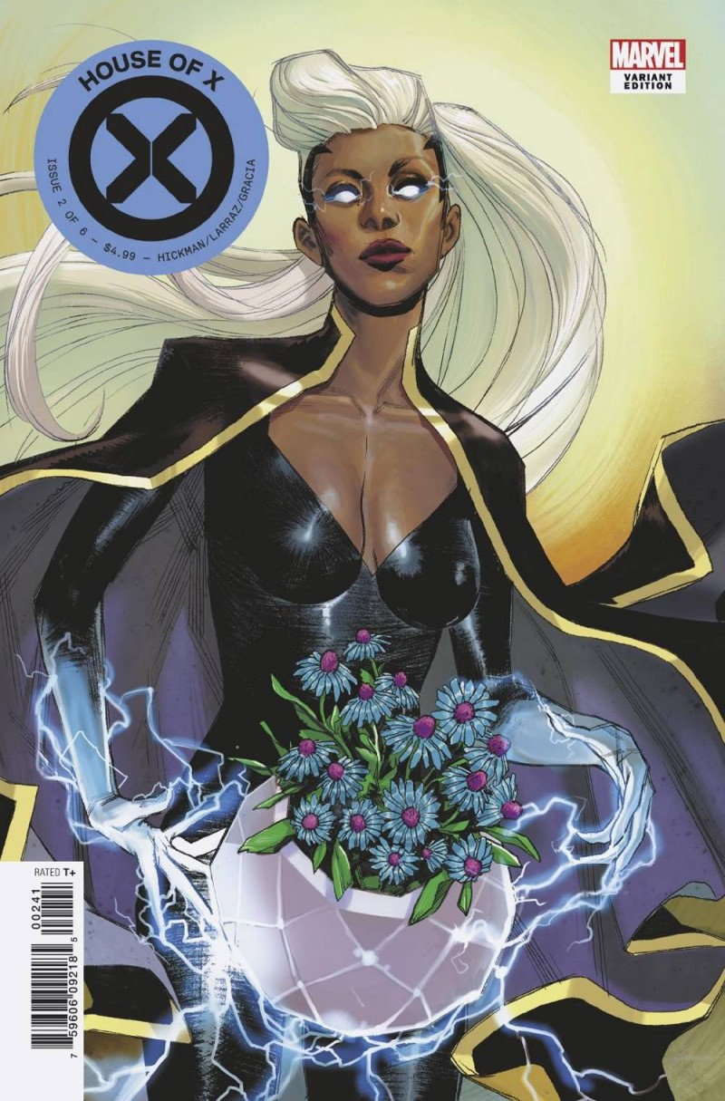 House of X #2 Variant Pichelli Flower