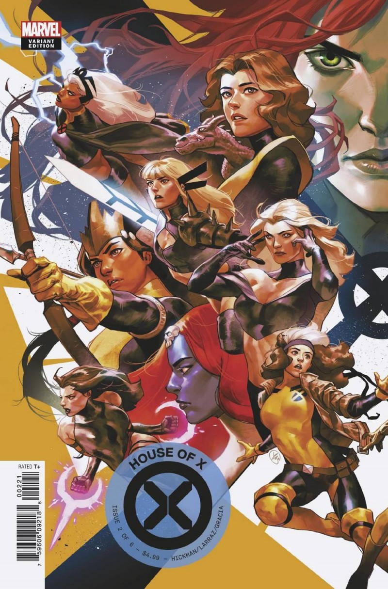 House of X #2 Variant Putri Connecting
