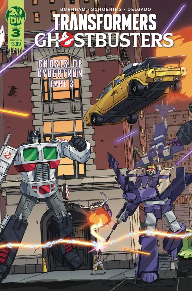 Transformers Ghostbusters #3 CVR A Schoening